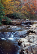Thumbnail: Hot Springs National Park - Waterfall at Gulpha Creek