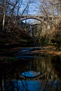 Thumbnail: Illinois River Winery - Reflecting Bridge
