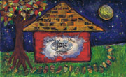Thumbnail: Jewish Folk Art - Bless This House