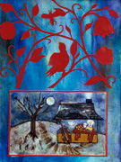 Thumbnail: Jewish Folk Art - Oświęcim Winter