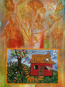 Thumbnail: Jewish Folk Art - Oświęcim Autumn