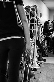 Thumbnail: Trombone Waiting in Line